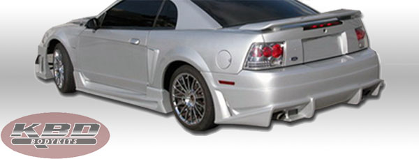 99-04 Mustang COBRA R - 4PC - Body kit (W/B-Magic V Speed Sides + Rear) - Urethane FREE SHIPPING