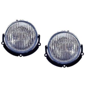 99-01 Mustang COBRA Ultra Fog Lights - Clear OEM (Pair)
