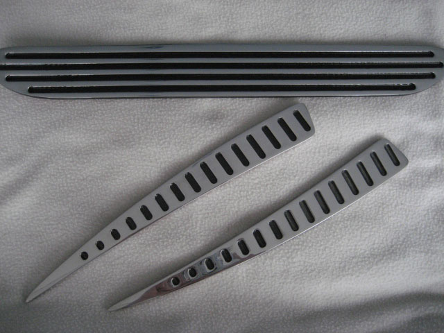 99-04 Mustang Side Scoops CNC Grilles 801107