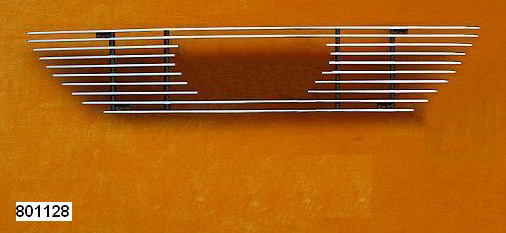 99-04 Mustang Upper Billet Grille with EMBLEM CUT OUT 801128