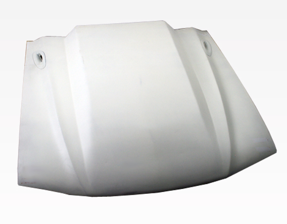 94-98 Mustang 3INCH COWL Hood (Fiberglass) by VIS (3 INCH RISE)