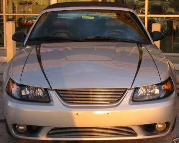 1999-2002 Mustang COBRA Upper & Lower Billet Grille COMBO