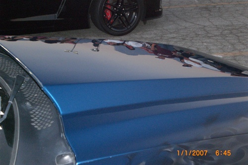 99-04 Mustang 3 INCH COWL Hood (Fiberglass) A49-3 by Trufiber (3 INCH RISE)