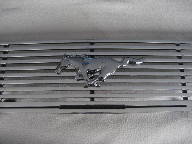99-04 Mustang Upper CNC Grille with Stainless Steel Grille REPLACEMENT 9988