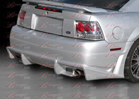 99-04 Mustang B-MAGIC - Rear Bumper -(Fiberglass)
