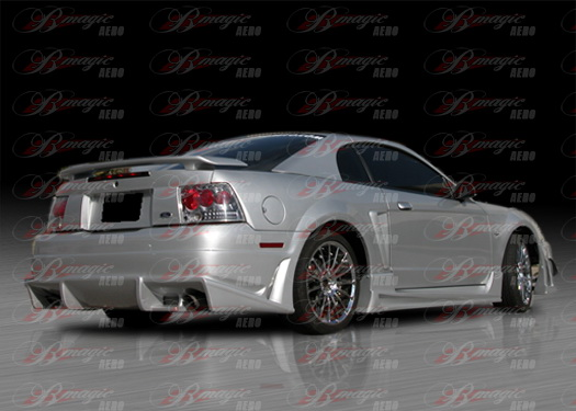 99-04 Mustang B-MAGIC - Rear Bumper - (Urethane)