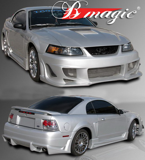 99-04 Mustang B-MAGIC - Front Bumper - (Fiberglass)