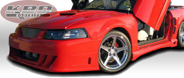 99-04 Mustang DEMON - Front Bumper - (Urethane) FREE SHIPPING