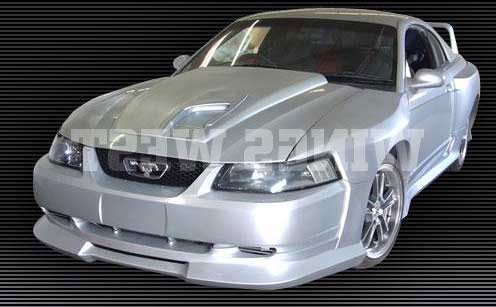 99 04 Mustang Dominator Wide Body 9pc Body Kit