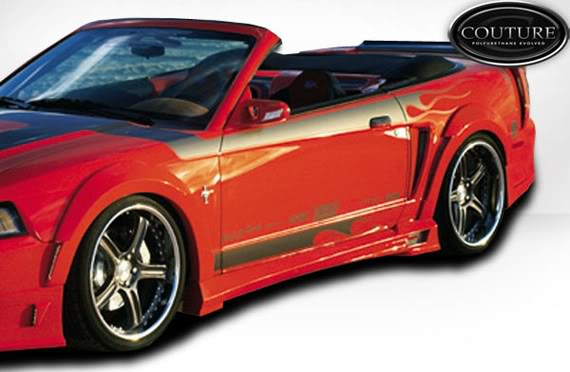 99-04 Mustang DEMON - 4PC - Body kit (Front + Rear + Sides) - Urethane