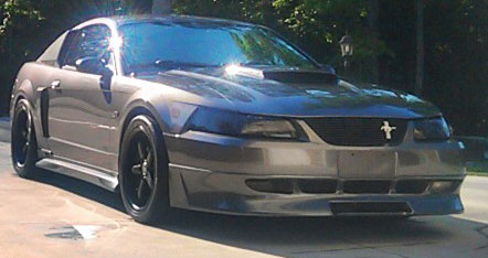 99-04 Mustang RAZZI ADD ON - Front Bumper - (ABS AERO-FLEX)