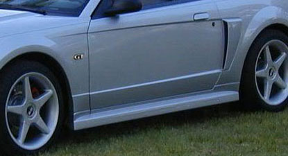 99-04 Mustang ROADSTER 2005 CONVERSION - Side Skirts - Passenger / Driver Side - (Urethane)