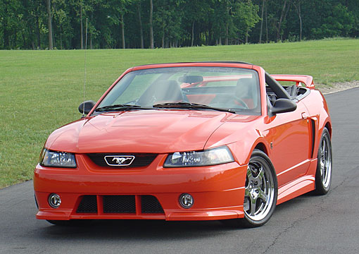 99-04 Mustang ROUSH STAGE 3 - Front Bumper Replacement with Fogs & Grilles - (Urethane)