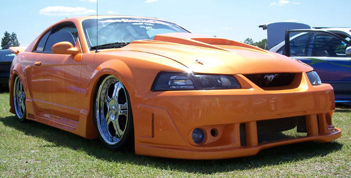 99-04 Mustang SPIDER X9 COBRA - Front Bumper - (Urethane)