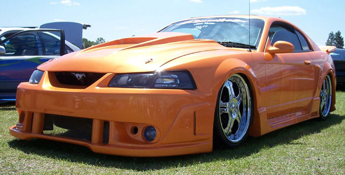 99-04 Mustang SPIDER X9 COBRA - 4PC - Body kit (Front + Rear + Sides) - Urethane