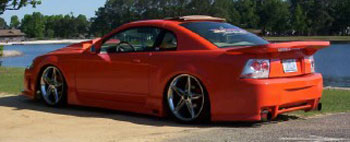 99-04 Mustang SPIDER X9 COBRA - Side Skirts - Passenger / Driver Side - (Urethane) FREE SHIPPING