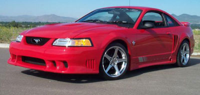 "99-04 Mustang STALKER STYLE ""S"" - 4PC - Body kit (Front Demon + Rear + Sides) - Urethane"