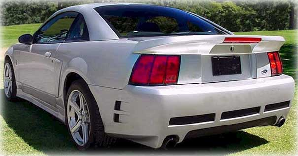 "99-04 Mustang STALKER STYLE ""S"" BULLET - Rear Bumper - (Urethane) FREE SHIPPING"
