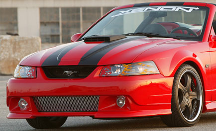 99-04 Mustang XENON STYLE 184 - Front Bumper Full Replacement - (Urethane)