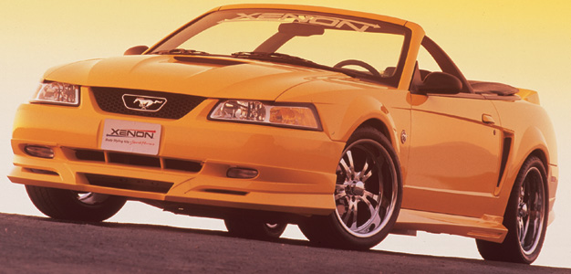 99-04 Mustang XENON ADD ON - Front Bumper - (Urethane)