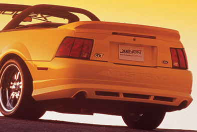 99-04 Mustang XENON ADD ON - Rear Bumper - (Urethane)