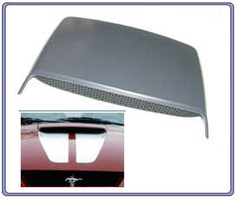 99-04 Mustang GT OEM Hood Scoop Kit From Ford