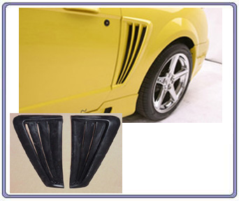 99-04 Mustang Saleen Side Scoops (2pc)