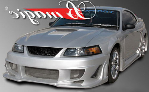 99-04 Mustang B-MAGIC - 4PC - Body kit (Front + Rear + Sides) - Fiberglass