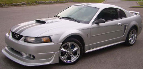 99-04 Mustang COBRA R - 4PC - Body kit (Front + Rear + Sides) - Fiberglass