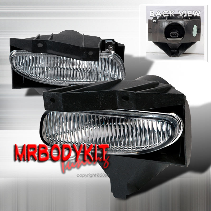 99-04 Mustang GT/V6 Ultra Fog Lights - OEM Clear (Pair)