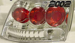 99-04 Mustang Taillights GEN 3 - CHROME (Pair)