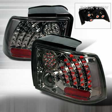 99-04 Mustang Taillights GEN 9 - SMOKED (Pair)
