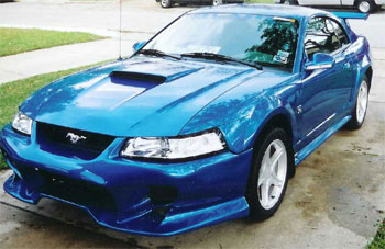 99-04 Mustang INVADER SHOGUN - 4PC - Body kit (Front + Rear + Sides) - Fiberglass