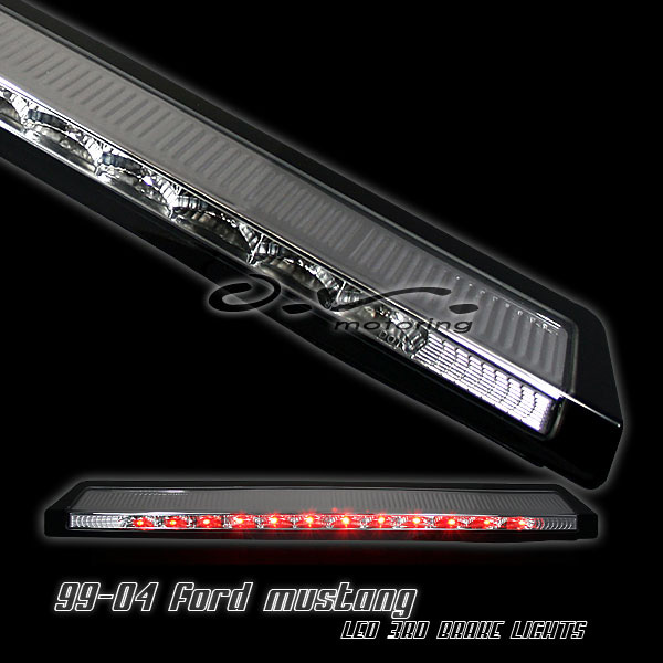 99-04 Mustang 3rd Brake Light - LED Standard light - CHROME