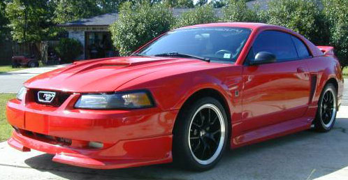 99-04 Mustang ROUSH STAGE 2 - Body kit With Wing (Front + Rear + Sides + Wing) - Urethane *Clearance