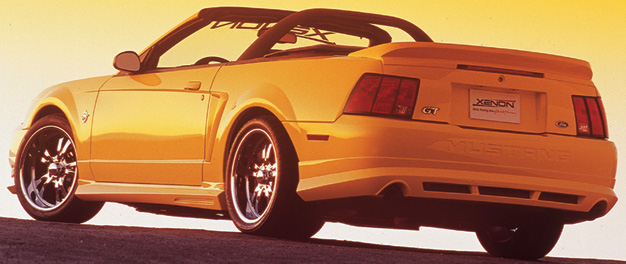 99-04 Mustang XENON STYLE 184 - 4PC - Body kit (Front + Rear + Sides) - Urethane