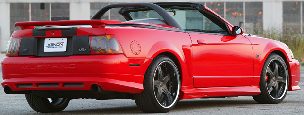 99-04 Mustang XENON ADD ON - 4PC - Body kit (Front + Rear + Sides) - Urethane