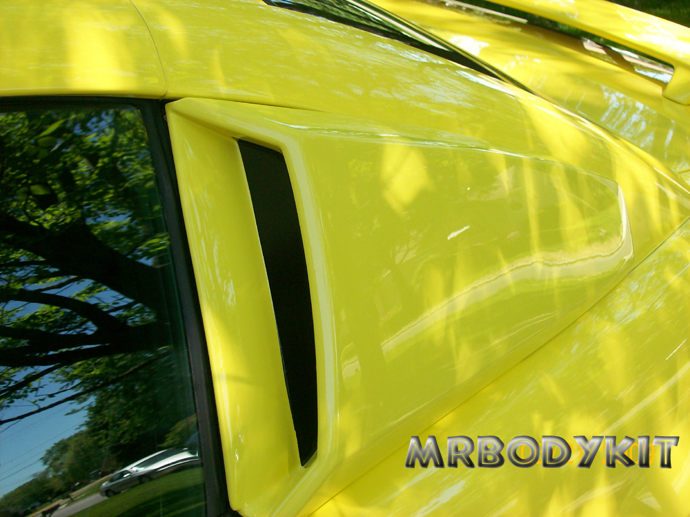 99-04 Mustang Xenon Upper Scoops - Urethane (2pc)