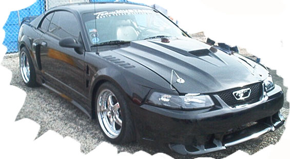 99-04 Mustang Z3 Fenders Fiberglass (Pair) (Most Popular)