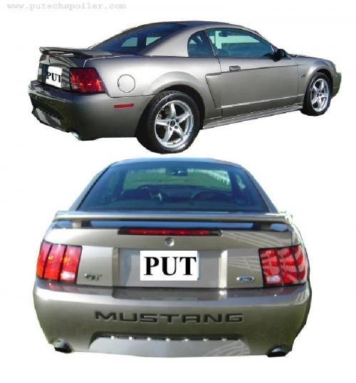 1999-2004 Mustang OEM Type GT/V6 Spoiler (Paint Options)