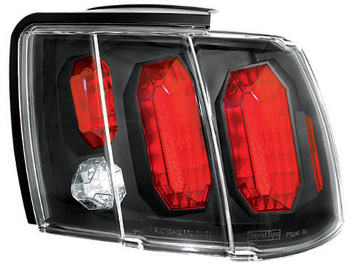 99-04 Mustang Taillights GEN 4 - BLACK (Pair)
