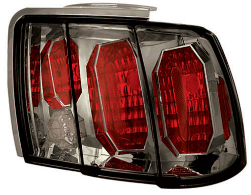 99-04 Mustang Taillights GEN 4 - PLATINUM SMOKED (Pair)