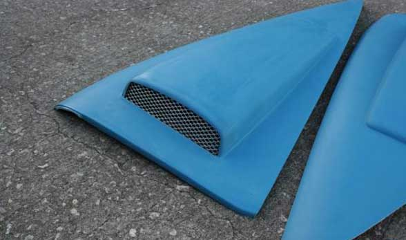 99-04 Mustang Retro-style C-Pillar Panel - Gen 1