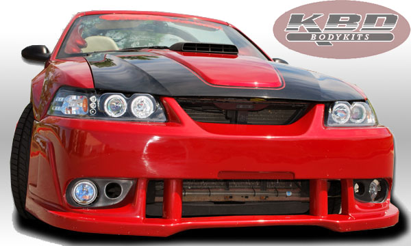 99-04 Mustang SPIDER X9 COBRA - Front Bumper - (Urethane) FREE SHIPPING