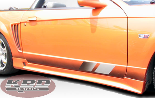 99-04 Mustang COBRA R - 4PC - Body kit (W/Stalker S Bullet sides + Rear) - Urethane FREE SHIPPING
