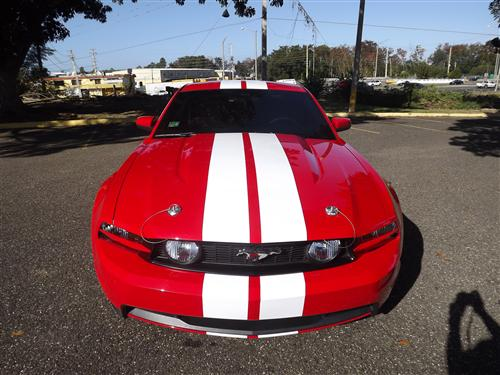 2005-2014 Mustang Billet Stylish Hood pin Kit with wire lanyards