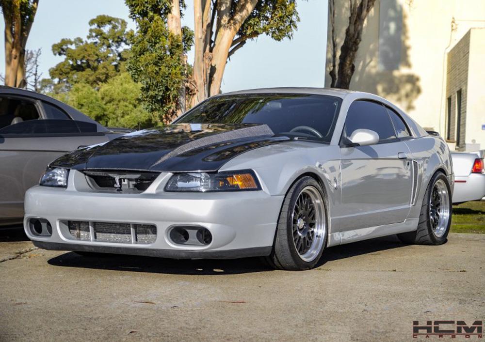 Hood Inch Cowl - Mustang 3 Carbon 99-04 Fiber