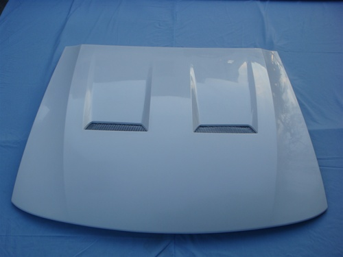 03-04 Mustang COBRA TF Style Heat Extractor (Fits 03-04 Cobra bumper only) (Fiberglass)
