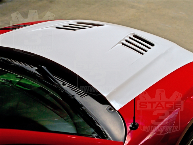 99-04 Mustang TruFiber A70 SLN Extreme Style Hood by Trufiber