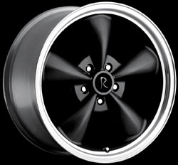 "BULLITT - BLACK - 5 Lug 94-04 (sizes available 17"", 18"")"